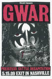 Gwar: Jesus/Gene Serigrafie von  Print Mafia