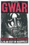 Gwar: Jesus/Gene Serigraph by  Print Mafia