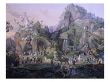 The Nativity, Gouache, 1830 Giclee Print by Salvatore Fergola