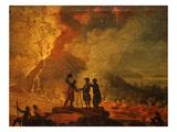 Volcano Giclee Print by Joaquim Manoel da Rocha