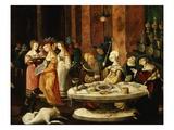 Herod's Banquet (Detail) Giclee Print by Nikolaus Kirberger