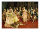 The Concert Giclee Print by Ettore Simonetti