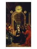The Pentecost, Early 16th Century Giclee Print by Portuguese School 