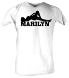Marilyn Monroe - Black & White Shirts