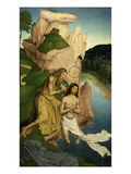 Baptism of Christ Giclee Print by Rueland Frueauf the Younger