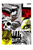 Cut Ups No. 1 Giclee Print by  Print Mafia