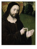 Christ Preaching (Detail) Giclee Print by Master of the Low Countries