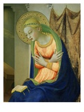Virgin Mary, from Annunciation Altarpiece, 1430-35 (Detail) Giclee Print by  Fra Angelico