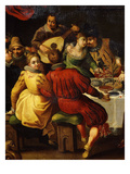 Feast (Detail) Giclee Print by Dirck Barendsz