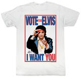 Elvis Presley - Vote Or Elvis Shirts