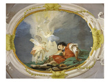 Jacob's Ladder, Fresco, 1726-28 Giclee Print by Giambattista Tiepolo