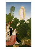 Apparition of Virgin Mary to Leopold III, C.1073-1136 Giclee Print by Rueland Frueauf the Younger