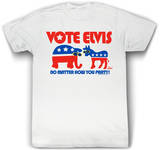 Elvis Presley - Vote Elvis Party Shirts