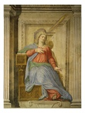 Madonna of the Annunciation, Fresco, Library Giclee Print by Francesco De Rossi Salviati Cecchino