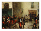 Student Scene, 1864 Giclee Print by Ricardo Balaca Y Canseco