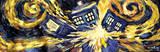Doctor Who - Exploding Tardis Print