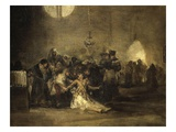 Exorcism Scene Giclee Print by Francisco de Goya