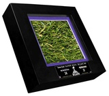Super Bowl XLVII Executive Desktop Turf with Game-Used Turf Framed Memorabilia