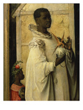 King Gaspard, from Adoration of the Magi, Tripytch, C.1495 Giclee Print by Hieronymus Bosch