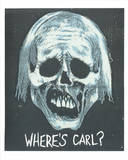Walking Dead Inspired Art Print: Where's Carl Serigraph by  Print Mafia