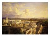 Hacienda, Colon, Mexico, Central America Giclee Print by Eugenio Landesio