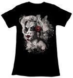 Juniors: Marilyn Monroe - Dios De Las Muertos T-shirts