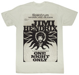 Jimi Hendrix - Jimi At The Spectrum T-shirts