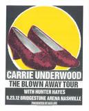 Carrie Underwood Siebdruck von  Print Mafia