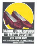 Carrie Underwood Serigraph by  Print Mafia