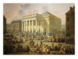 La Grande Braderie À Lille (Great Market in Lille, France), 1780 Giclee Print by Francois Louis Joseph Watteau