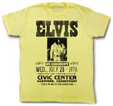 Elvis Presley - In Concert T-shirts