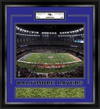 Baltimore Ravens Super Bowl XLVII Framed Game-Used Turf Framed Memorabilia