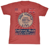 Jimi Hendrix - Continuous Music T-Shirts