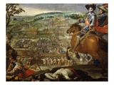 Battle of Fleurus, 29 August 1622 Giclee Print by Vincente Carducho