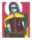 Jesus Robin Serigraph by  Print Mafia
