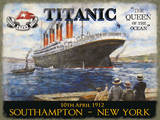 Titanic - The Queen of the Ocean Tin Sign