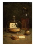Nature Morte Aux Fromages (Still Life with Cheese) Giclee Print by Léon Gascard