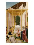 Construction of Klosterneuburg Monastery, with Leopold III, C.1073-1136 Giclee Print by Rueland Frueauf the Younger