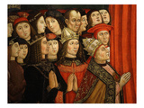 Holders of Temporal Power Including Pope Alexander VI, Borgia 1431-1503 Giclee Print by Cola da Roma