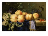 Nature Morte Aux Fruits (Still Life with Fruit) Giclee Print by Paul Liegois
