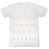 Rocky - Words T-Shirt