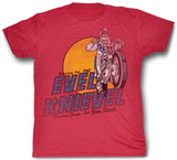 Evel Knievel - Danger Zone Shirts