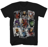 Marvel - Scatter Up Tシャツ