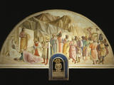 The Adoration of the Magi, Fresco 1437-45, Convent of San Marco, Florence, Italy Photographic Print by  Fra Angelico