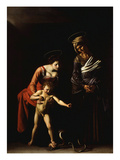 Madonna with the Serpent, also Called Madonna Dei Palafrenieri Giclee Print by  Caravaggio