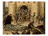 Saint (St) Bartholomew's Day Massacre (Of Protestants), 24 August 1572 , Paris, France Giclee Print by Francois Dubois
