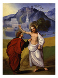The Doubting or Incredulity of Saint Thomas Giclee Print by Lodovico Mazzolino