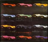 Formula 1 Car W196 R, 1954 Poster von Andy Warhol
