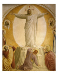 The Transfiguration, Fresco 1437-45, Dormitory, Convent of San Marco, Florence, Italy Giclee Print by Fra Angelico