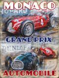Grand Prix de Monaco Plaque en métal
